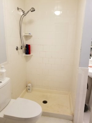 No more shower doors!