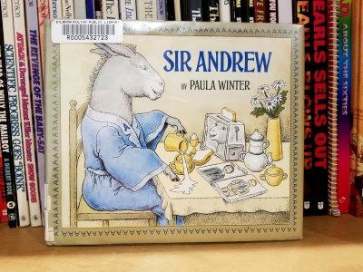 My legit copy of Sir Andrew