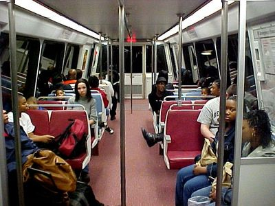 This was my first time riding on a 5000-Series railcar, and also my first time riding the Green Line.