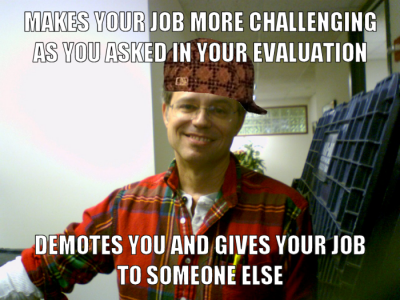 """Scumbag Steve"" style meme about my situation"