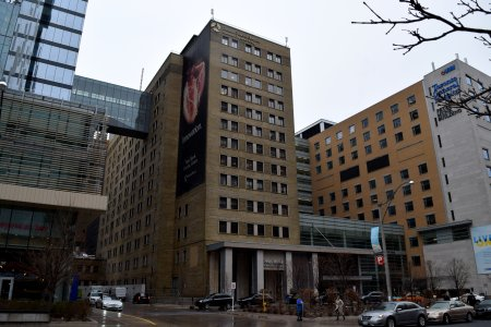 "Norman Urquhart wing of Toronto General Hospital, where Sam and Jodie visited the neonatal ward in ""Family""."