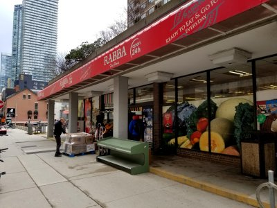 "Rabba Fine Foods, formerly Variety Food Fair, where Sam and Muffy went grocery shopping in ""Food""."