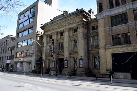 """The former Adelaide Court Theatre, which Sam and Jodie visited in """"Plays"""". The building now houses a restaurant."""