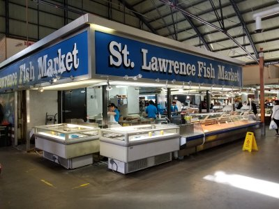 "The fish market where Sam and Muffy got the octopus in ""The Sea""."