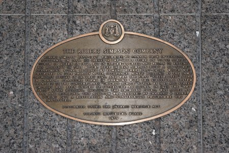 "The plaque, which the one from ""Our Story"" is based on."