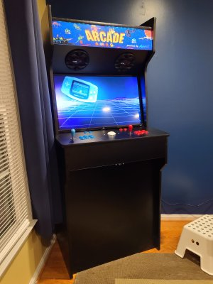 My new arcade machine