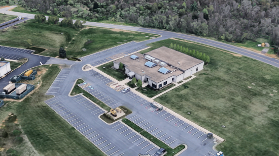 CFW Information Services, now the operations center for Dupont Community Credit Union, from Google Maps