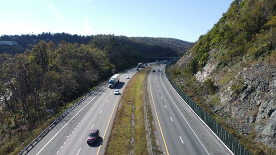 Interstate 64 at Rockfish Gap