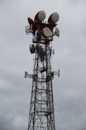 AT&T Long Lines tower in Williamsburg