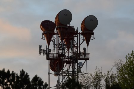 AT&T Long Lines tower in Newport News