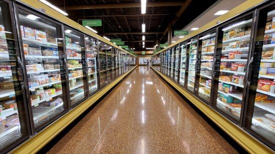 Frozen aisle at Publix