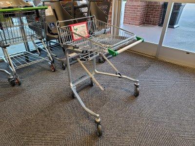 Wheelchair cart