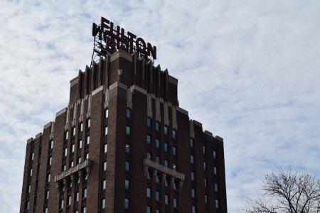 Fulton Bank building.