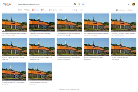 Google image search results for the Howard Johnson's photo