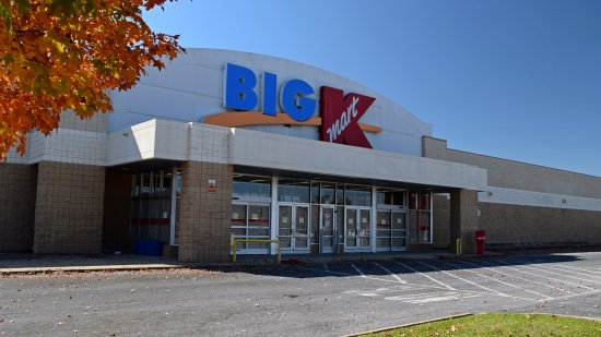 The former Kmart in Waynesboro