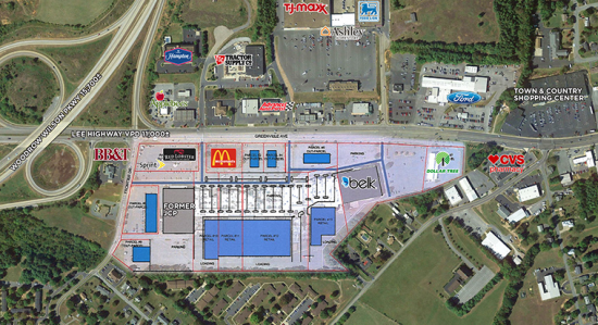 Staunton Mall redevelopment plan