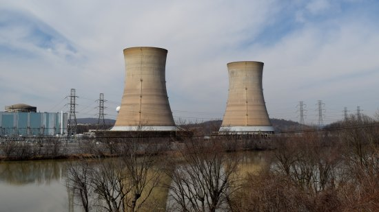 Cooling towers for Unit 1. These were decommissioned last year.