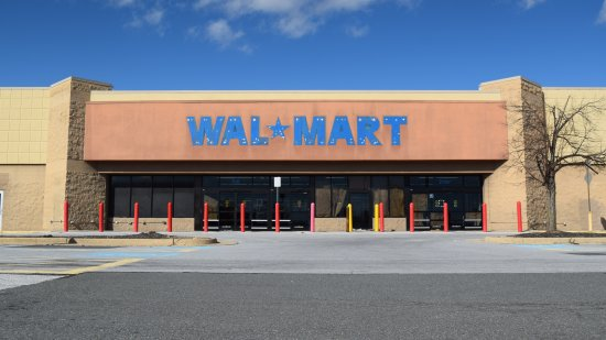 Former Walmart in Leesburg, Virginia