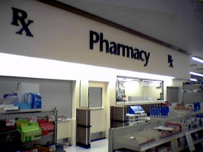 The renovated pharmacy is once again in service.