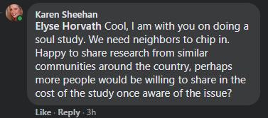 Sheehan's response to Elyse