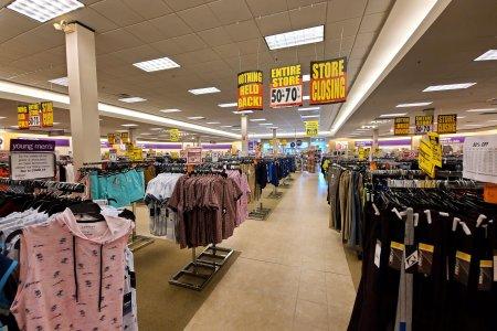 The salesfloor at Gordmans.