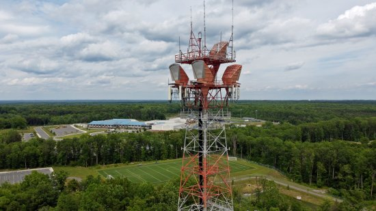AT&T Long Lines tower near Dumfries