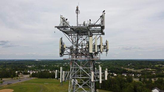 AT&T Long Lines tower near Manassas