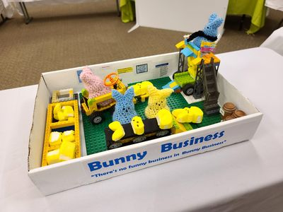 """""""Bunny Business: There's no funny business in Bunny Business."""""""