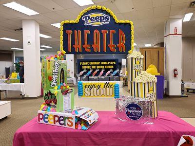 Peeps theater.
