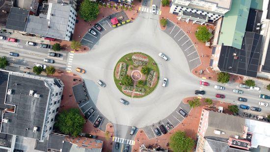 Lincoln Square in Gettysburg, Pennsylvania