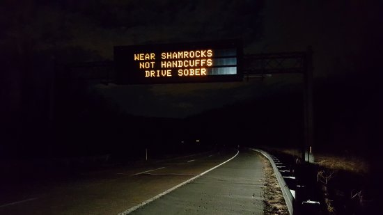 """Wear shamrocks, not handcuffs. Drive sober."""