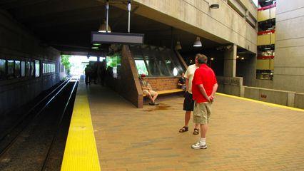 Quincy Adams station.