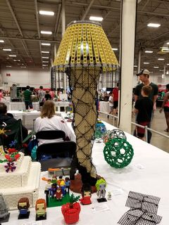 """This was titled """"A Major Award"""", built by Alfred Speredelozzi of Kingston, Rhode Island, described as """"The X-rated prize from our favorite X-mas story."""""""
