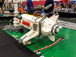 Lego airport. I built an airport out of Legos once, but it was never this detailed!