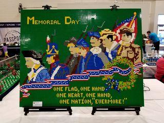 Memorial Day illustration, based on a World War I-era postcard.