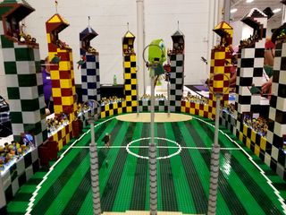 And finally, Quidditch Stadium from Harry Potter.