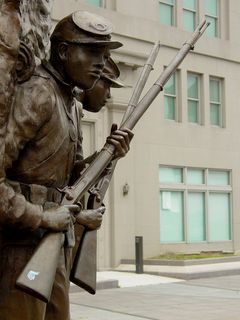 From Fort Totten, we went south to U Street/African American Civil War Memorial/Cardozo, to visit the African American Civil War Memorial, a memorial commemorating African Americans who fought in the Civil War.