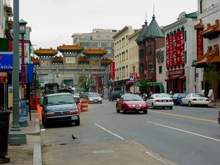 After seeing what we wanted to see, we crossed the street, and returned to the Gallery Place-Chinatown station.