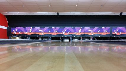 We later went bowling at a duckpin facility south of Baltimore.