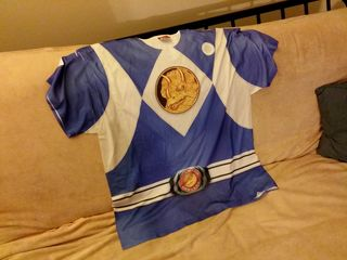 """I ordered this Power Rangers shirt on Amazon, and it arrived on July 17. File this one under """"Worst Nerdy T-Shirt Ever"""", and not in a funny and/or ironic way, either."""