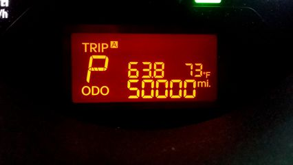 On August 27, the Soul reached a milestone: 50,000 miles.