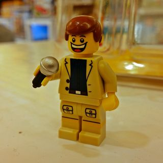 """On December 30, I hit up Tysons Corner with Elyse. At the Lego store, I saw this little minifigure, and said about it on Instagram, """"Doesn't he look like one of those awful televangelists or something? Call now to place your vows. All major credit cards accepted!"""""""