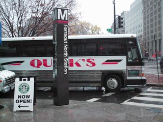 Quick's bus in DC.