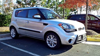 The journey actually began with another Kia Soul, at Ourisman Kia in Chantilly, Virginia.