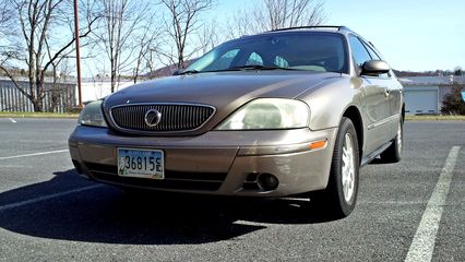 After we took care of the Soul's sale, my father and I went over to motor vehicles so that he could get some tag work done on another car while the dealership got the Soul ready to go. While he did that, I got some final photos of my previous car, a 2004 Mercury Sable. It was a good car for the time, but it had started to develop a lot of issues, which told me that it was time to get a new car.