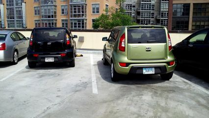 Parked next to another Soul on the roof of the P Street Whole Foods store in DC on May 3.