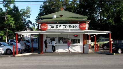 On July 4, 2013, I went on a trip with my friend Pete to Harpers Ferry and Winchester. I got some shots of the Soul in Winchester at Pack's Dairy Corner, a local frozen custard stand.