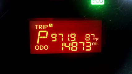 July 23, 2013: one year, four months, and some change, and nearly 15,000 miles.