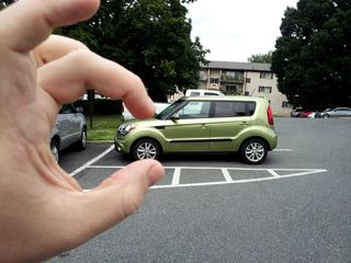 """This was a creative """"pinch"""" photo that I did as part of the Kia Key program."""