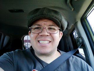 Selfie on September 19, 2013.